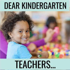 Kindergarten teachers are the best