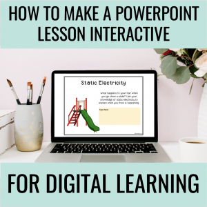How to make a powerpoint lesson interactive and digital