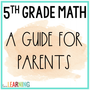5th grade math worksheets and tips for parents