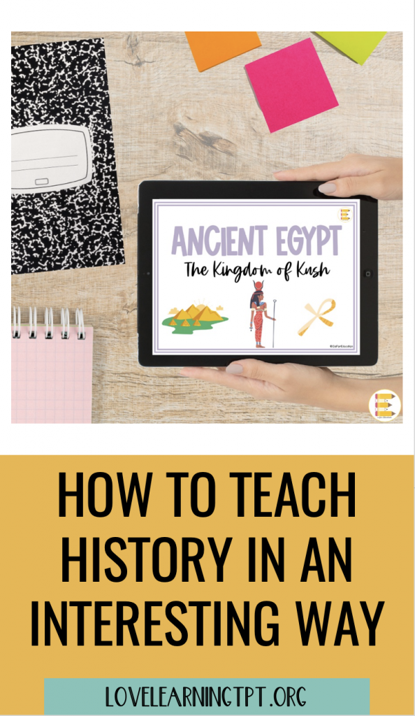 How to teach history in a fun way