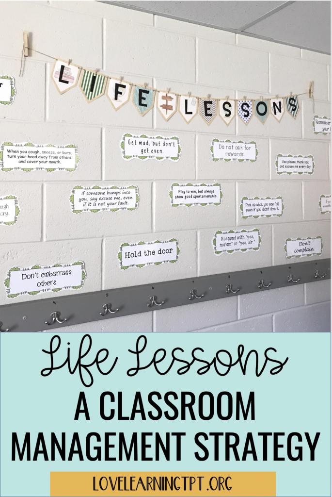 classroom management techniques and classroom community